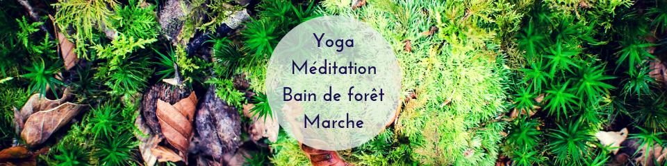 Yoga, Méditation et Bain de Forêt