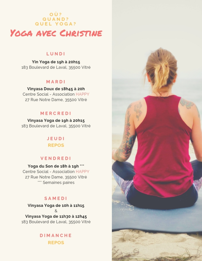 Planning Yoga Christine H. PranaRun Yoga